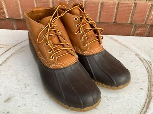 Details about LL BEAN Boots men's Duck Boots, Great Condition Size 12 M see  measurements