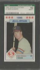 1996 Huntsville Stars Mark McGwire Minor League Card # 3 SGC 92 NM-MT+ (CSC)