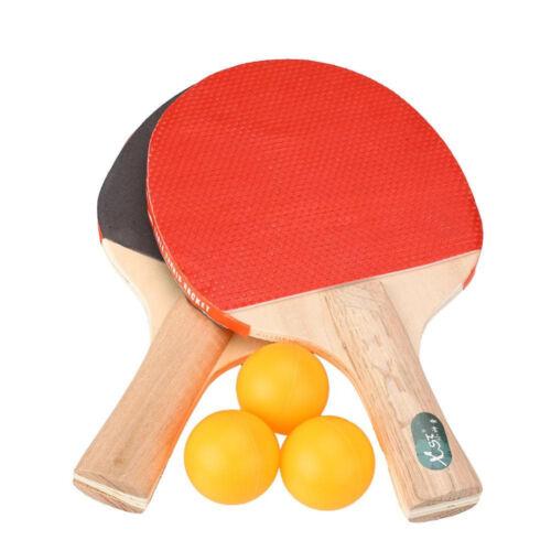 5 tout en un tennis de table set pagaies chauves-souris balles jeux party 2 joueurs de ping pong
