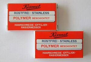 Crp-Solingen-2-x-6-pack-Lame-per-Kismet-Rasoio-Forbici-Styling-Diradamento