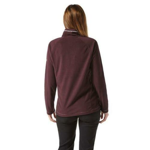 CRAGHOPPERS Womens Miska Fleece Winterberry Burgandy
