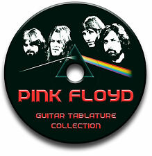 PINK FLOYD PROGRESSIVE ROCK GUITAR TAB TABLATURE SONG BOOK SOFTWARE CD