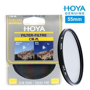 512bd586bd7d HOYA 55mm CIR-PL Slim Circular Polarizing Polarizer CPL Filter For ...