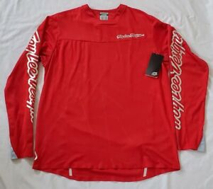 Troy-Lee-Designs-Sprint-Ultra-Long-Sleeve-Jersey-Podium-Red-Large