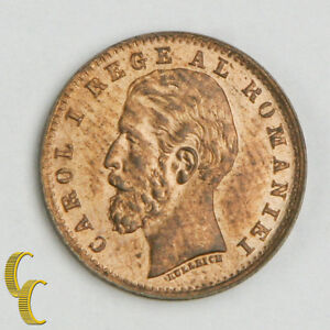 1900B-Romania-Ban-BU-Copper-Coin-KM-26