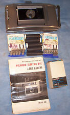 Polaroid J66 Flashbulbs Type 47 Film Instructions Folding Photo Picture Camera