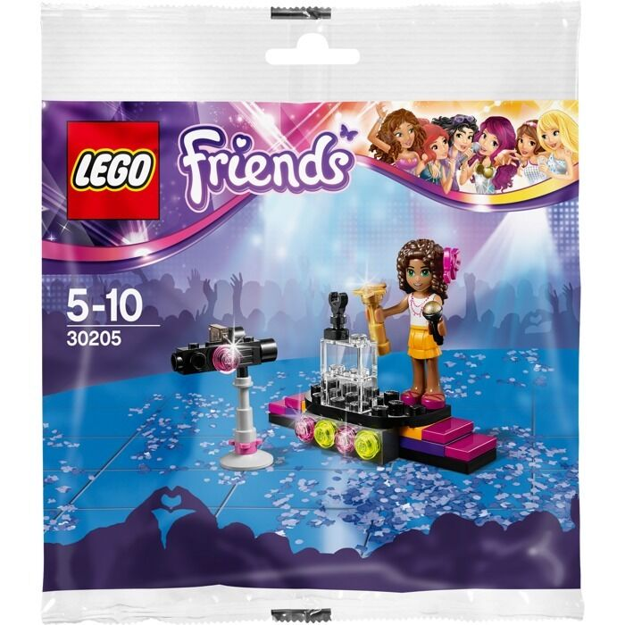 LEGO Friends - Lot Of 10 - Pop Star ROT Carpet - 30205 - New & Sealed