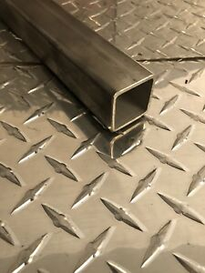 1-1//2 x 1-1//2 x 3//16 A36 Hot Rolled Steel Square Tubing x 24 Long