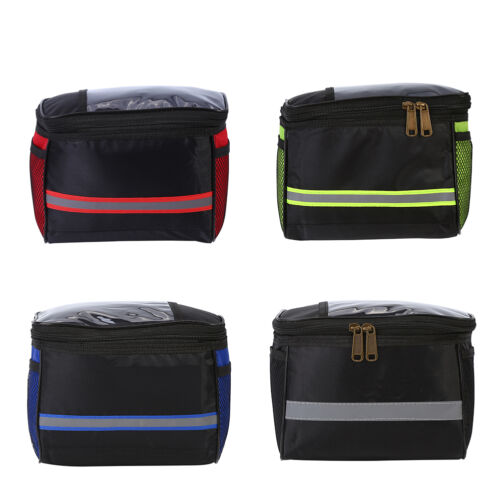 Waterproof Riding Cycling Bike Handlebar Bag Bicycle Front Tube Pocket Pack SA
