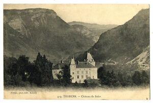 CPA 74 Haute-Savoie Thorens Château de Sales