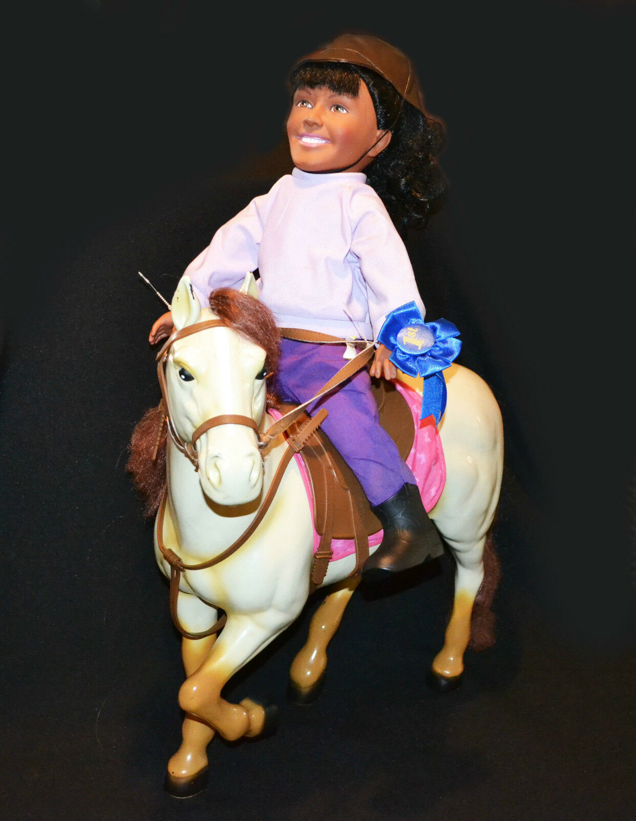 The Saddle Club Large Horse & Carol Doll Rare