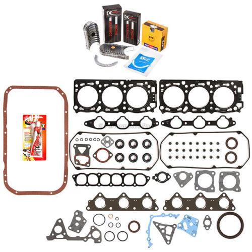 Fits 97 Mitsubishi Montero Sport 3.0L Gasket Rings Bearings