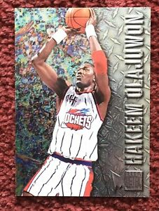 HAKEEM-OLAJUWON-1996-97-Fleer-Metal-38-Houston-Rockets