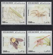 UAE 1998 ** Mi.571/74 Tiere Animals | Arthropoden Skorpion Biene Bees