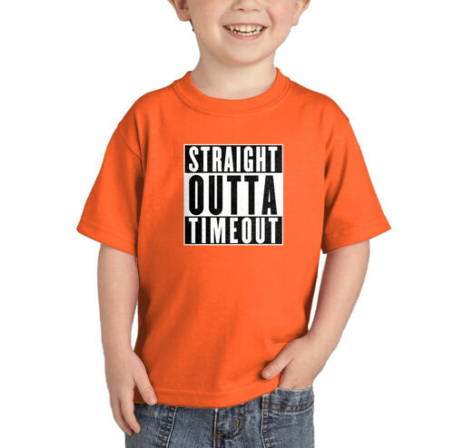 Trouble Maker Bad Naughty CHILDTEE Straight Outta Timeout