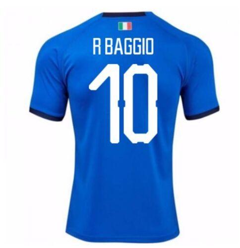 Maglia BAGGIO Ufficiale Italia Nazionale Calcio azzurra 2019 ROBERTO N 10