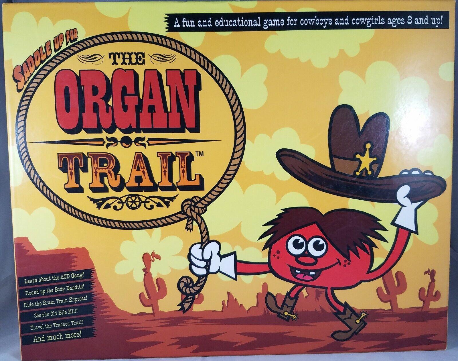 L'ORGUE Trail (et amusant jeu éducatif sur l'alcool et les drogues) complet
