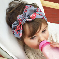 Bow Turban Knot Toddler Baby Headwrap Star Headband Black Ebay