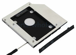 Generic Sata 2nd 9.5mm Hdd Ssd Hard Drive Caddy Adapter for Dell Inspiron 15r 5521 5537