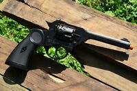 Webley Mk Iv Service Model Revolver - British - Indiana Jones - Denix Replica