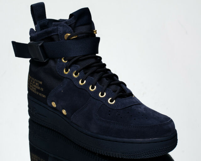 ... where to buy nike sf air force 1 mid obsidian suede af1 men lifestyle  sneakers new de52ff88d