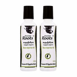 Greenish-Roots-Black-Seed-Hair-Oil-Twin-Pack-100ml-x-2