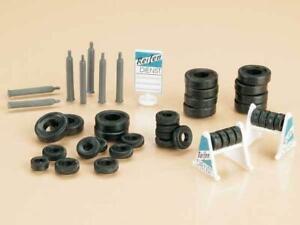 BNIB-42590-OO-HO-Gauge-Garage-Accessories-Tyre-Stand-amp-Gas-Cylinder-Kit-Auhagen