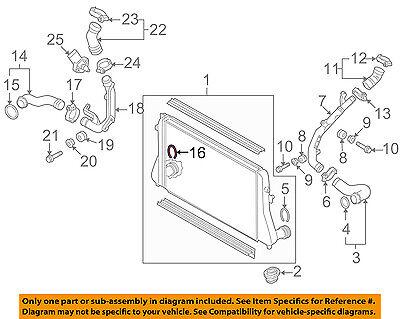 VW VOLKSWAGEN OEM-Turbo Turbocharger Intercooler Retainer Clip 1J0145769G