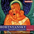 Bortnyansky: Sacred Concertos, Vol. 3 (CD, Aug-2000, Chandos)