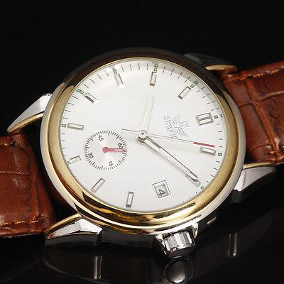 Vintage Business Dress Mens Mechanical Watch reloj de pulsera de negocio clásico