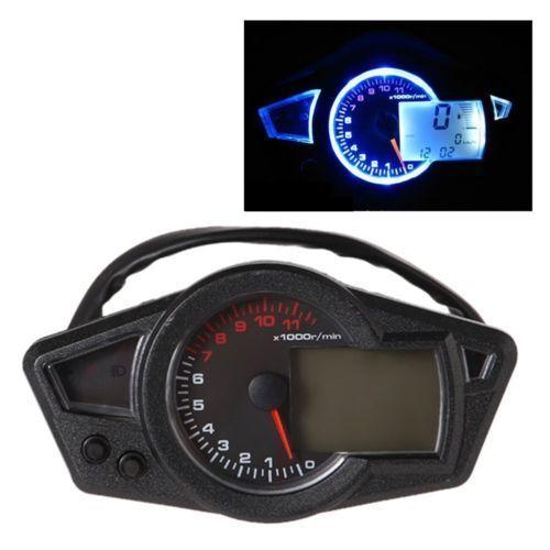 Universal Motorcycle Lcd Digital Speedometer