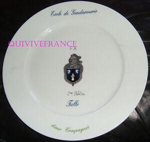 Assiette Ecole De Gendarmerie De Tulle #2 N4l7nqy7-08003831-562242926
