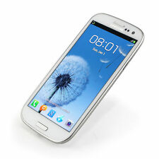 """Unlocked Samsung Galaxy SⅢ S3 I9300 16GB 8MP 3G 4.8"""" Android Cellphone White"""