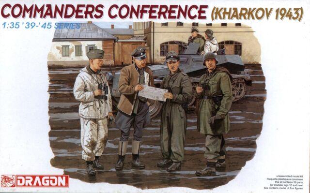 Dragon Models USA 1//35 Commanders Conference Dml6144 for sale online