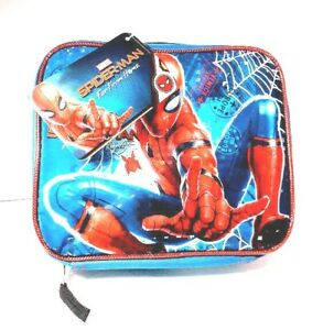Marvel-Spider-Man-Soft-Insulated-Lunch-Bag-Far-From-Home-NEW