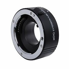 Movo Photo Auto Focus 25mm Macro AF Extension Tube for Sony Alpha DSLR Camera