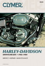 Clymer repair manual for Harley-Davidson Shovel 1966-1984 M420
