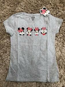 Disney Minnie Mouse Girls Minnie Mouse T-Shirt White