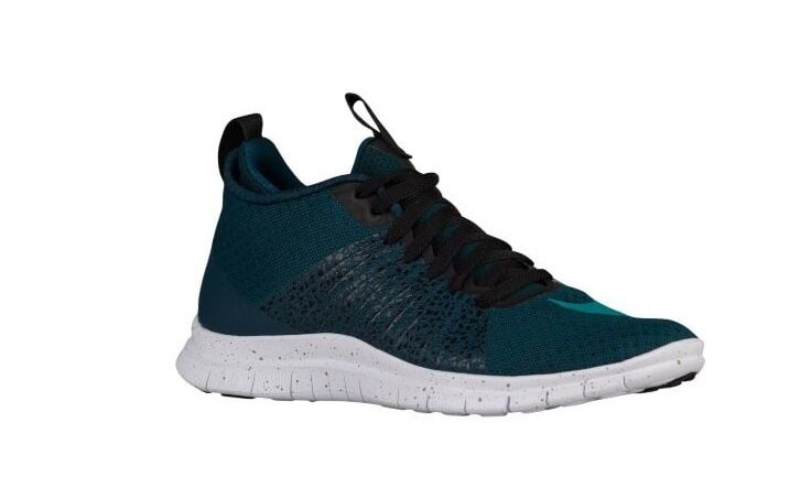 NEW Men's Nike Free Hypervenom 2 Shoes Size: 7 Color: Midnight Turquoise