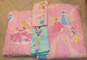 Letto Singolo Bambina.Completo Letto Singolo Principesse Disney Caleffi Per Bambina Ebay