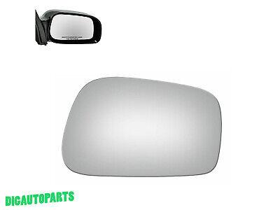Fits 03-08 Corolla Matrix Vibe Right Pass Convex Mirror Glass Lens w// Adhesive