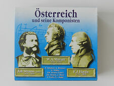 3 CD Box Österreich und seine Komponisten Mozart Strauss Haydn Schubert Bruckner