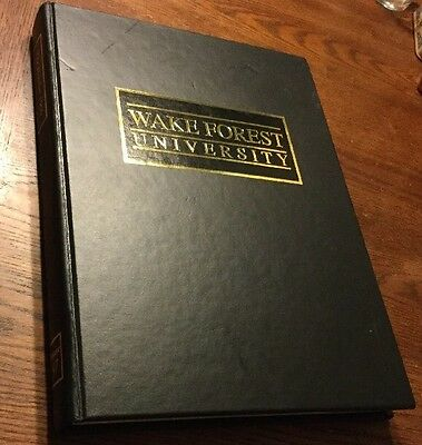 Wake Forest University Howler Year Book 1999 Very Good