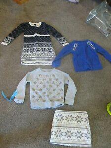 c0b6b9a2aca8c MINT Girls LOT Maggie Zoe Sweater Dress & Crew Cut Sweatshirt ...
