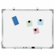 Magnetic Whiteboard White Board Wall Hanging Board With Eraser 18 X 24 Inch