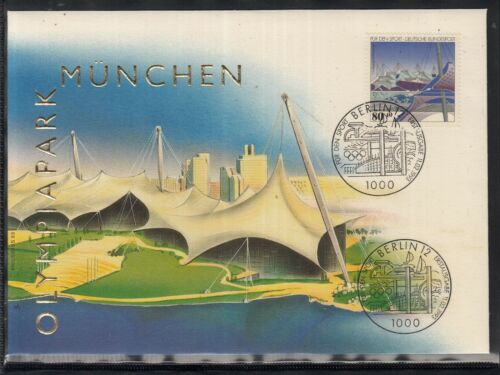 C 24 ) Germany Fantastic Cover - Olympiapark Munich 1993