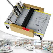 A3 Booklet Making Machine Paper Bookbindingampfolding Machine Booklet Stapling Usa