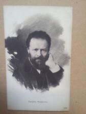 antique post card GEORG HENSCHEL, Breitkopf & Haertel