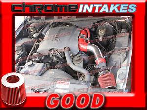 RED 96-02 FORD CROWN VICTORIA//LINCOLN TOWN CAR//GRAND MARQUIS 4.6L V8 AIR INTAKE
