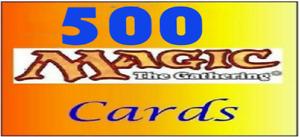 500 Cards Magic MTG Max 4x English English 20 Rare Lot Stock Uncommon